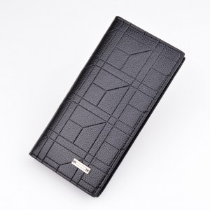 New Men's Long Wallet Fashion Casual Open Wallet