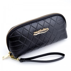 Ladies wallet large capacity shell type 2020 new Korean mobile phone bag fashion zipper wallet