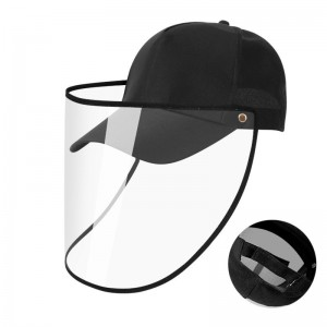 Anti-dropping hat Korean fisherman hat protective cap anti-epidemic isolation cap anti-dust mask removable baseball capn Medicine and Hygiene Bag Portable Storage Bag Family First Aid Kit