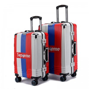 New ABS PC hard-shell suitcases, light trolley suitcases in the cabin, with TSA lock and 4 universal wheels