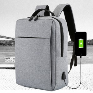 Manufacturer for Solid Color - Laptop backpack business travel backpack – Sansan