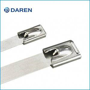 Stainless steel cable Ties-Ball-Lock  Uncoated Ties