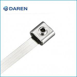 Stainless steel LS Buckle  cable Ties