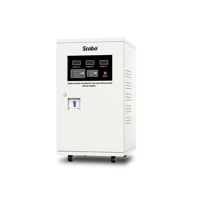 China Hot Supper Efficiency Three Phase Voltage Stabilizer Ivr Series Manufacture And Factory Staba Electric