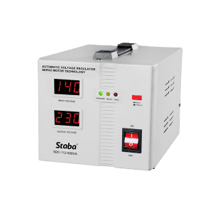 China Cheap price Svc Stabilizer - Full atomatic regulator servo motor stabilizer SDC-112 Series – Staba Electric