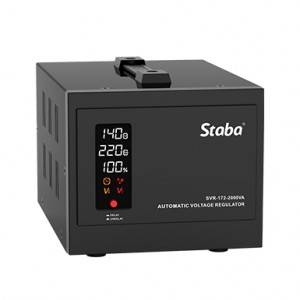 Hot New Products Relay Stabilizer - Best selling atomatic 0.5kVA-5kVA voltage regulator SVR-172 series – Staba Electric