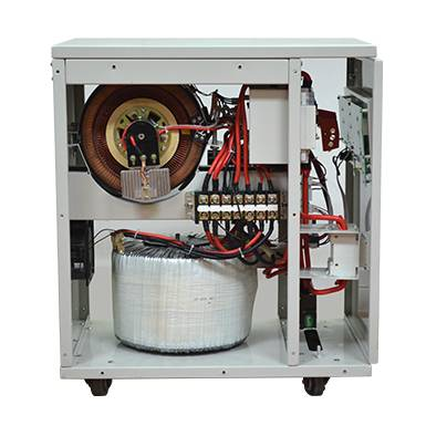 Hot New Products Relay Stabilizer - Latest generation 10kVA-30kVA single phase industrial voltage stabilizer VR11 Series  – Staba Electric