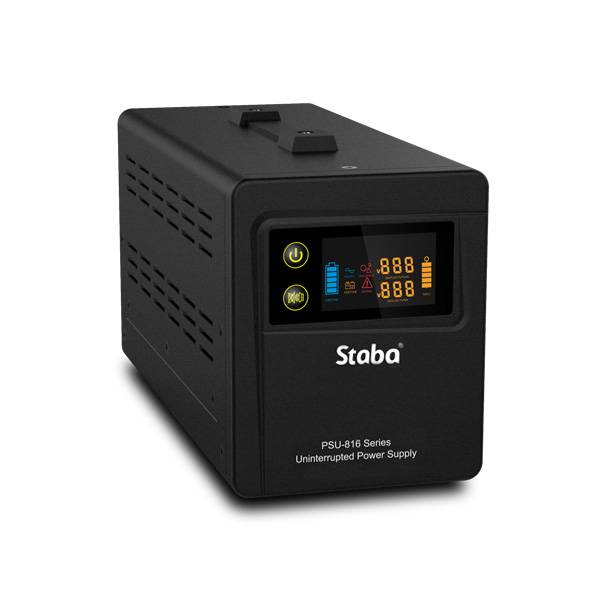 China wholesale Ups Inverter - China supply pure sine wave dc ac UPS with AVR PSU-816 series – Staba Electric Featured Image