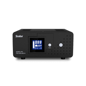 Professional China Inverter Charger - High frequency 500-2000VA sine wave UPS PSU-805 series – Staba Electric