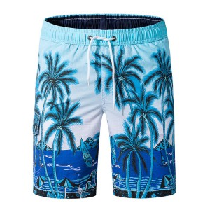 Mens Swim Trunks Quick Dry Swim Shorts with Mesh Lining