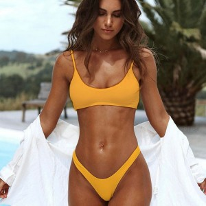 Wholesale Kids Swimwear Factory - Custom private logo wholesale padded push up sexy women swimwear leopard bikini 2020  – Stamgon