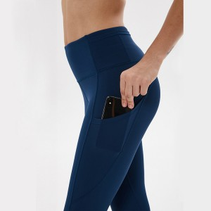 Wholesale Sportswear Leggings Factory - High Waist Yoga Pants with Pockets, Tummy Control Workout Pants for Women 4 Way Stretch Yoga Leggings with Pockets – Stamgon