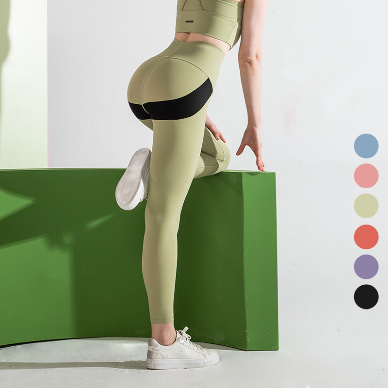 Professional China Yoga Pants Women - 2020 new fashion wholesale double sides custom logo tight active wear high waist butt lift women sexy yoga pants – Stamgon
