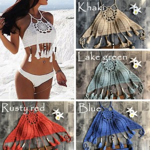 New Delivery for Mommy And Me Bathing Suits - New fashion Bohemia beachwear swim suit african brazilian swimwear women sexy crochet bikini – Stamgon