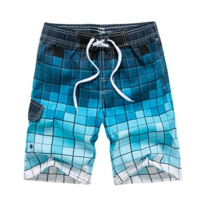 Factory wholesale Father Son Board Shorts - Quick dry comfortable board shorts printed mens custom beach shorts – Stamgon
