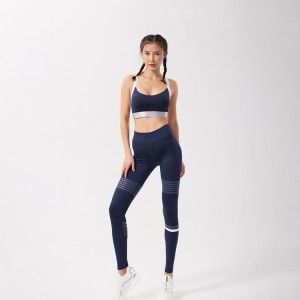 China Factory for Padded Sports Bra - Wholesale high impact active wear women fitness yoga wear set – Stamgon