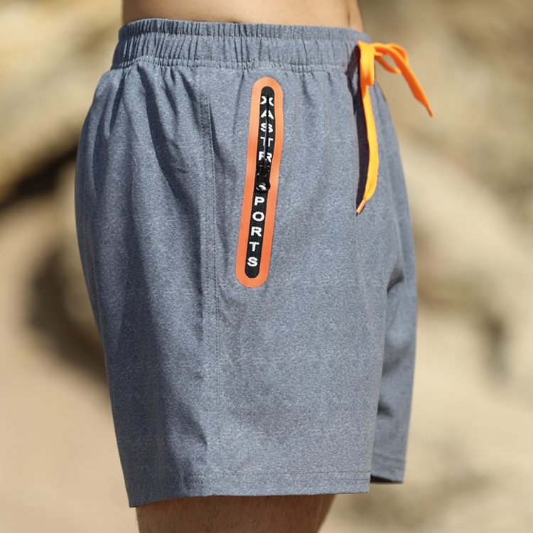 Wholesale Beach Shorts With Zip Pockets Manufacturers - Stamgon Men's Sportwear Quick Dry Board Shorts with zipper pockets – Stamgon detail pictures