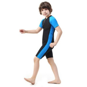 2019 New Style Swimsuit With Sleeves - New Arrival cute custom one piece Children's swimwear for boys – Stamgon