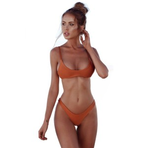 Professional China Muslim Swimwear - Wholesale brazilian micro swimwear sexy bikini custom printed women swimwear  – Stamgon