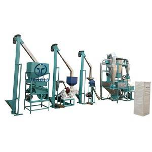OEM manufacturer Flour Mill Machine For Home - 12T/D Maize Mill Machine – Tehold