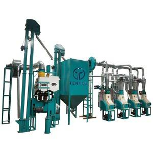 15T/D Wheat Flour Mill