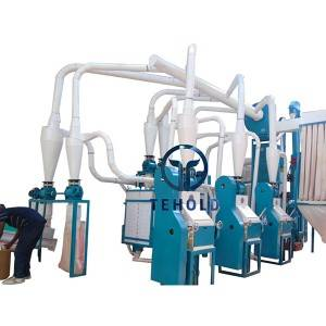 Factory wholesale Maize Roller Mill - 20T/D Maize Mill Machine – Tehold