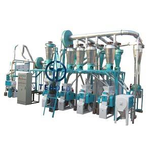 Special Price for Pasta Flour Machine - 20T/D Wheat Flour Mill – Tehold
