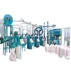 30T/D Maize Mill Machine