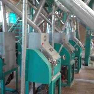 OEM manufacturer Suji Flour Machine - 30T/D Wheat Flour Mill – Tehold