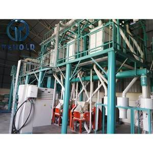 50T/D Maize Mill Machine