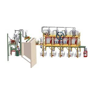 Manufacturer of Wheat Destoner - 50T/D Wheat Flour Mill – Tehold