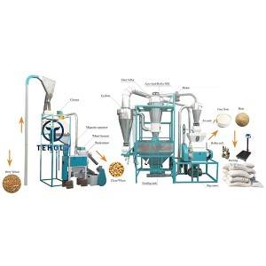 5T/D Wheat Flour Mill