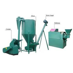 China Cheap price Mixer For Animal Feed - 6-10T/D Animal Feed Machine – Tehold