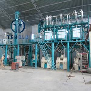 70T/D Maize Mill Machine