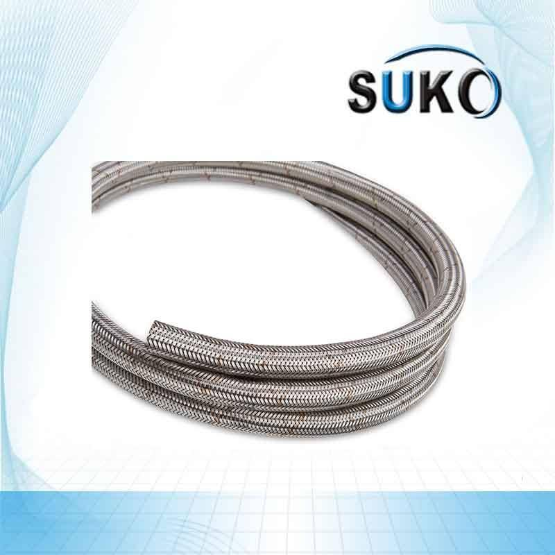 Fast delivery Polytetrafluoroethylene Teflon - PTFE Lined Stainless Steel Braided Hose / Tube / Pipe – SuKo
