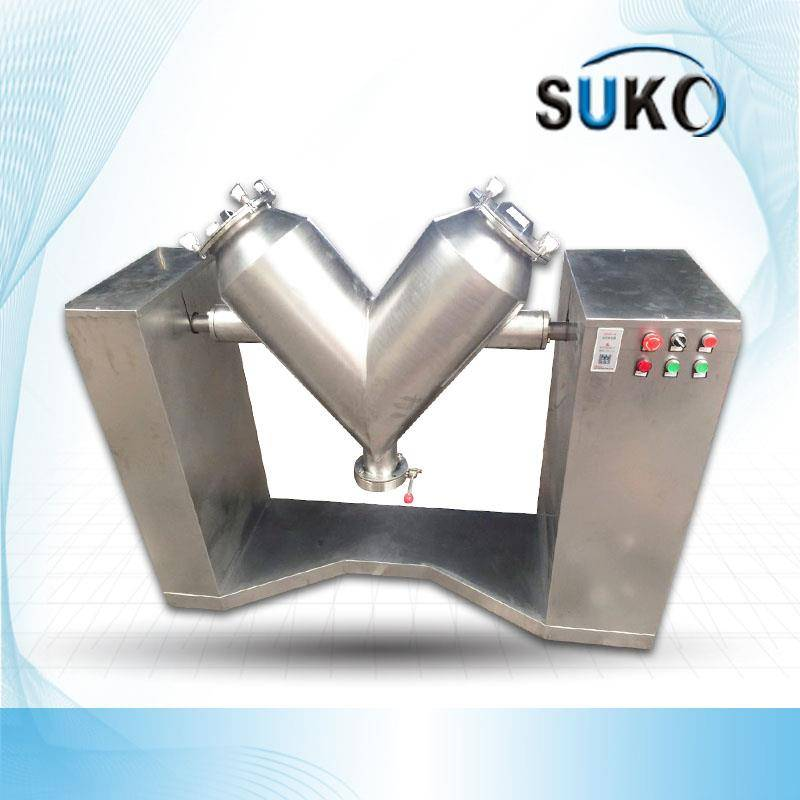 The v-100 PTFE Powder mixer