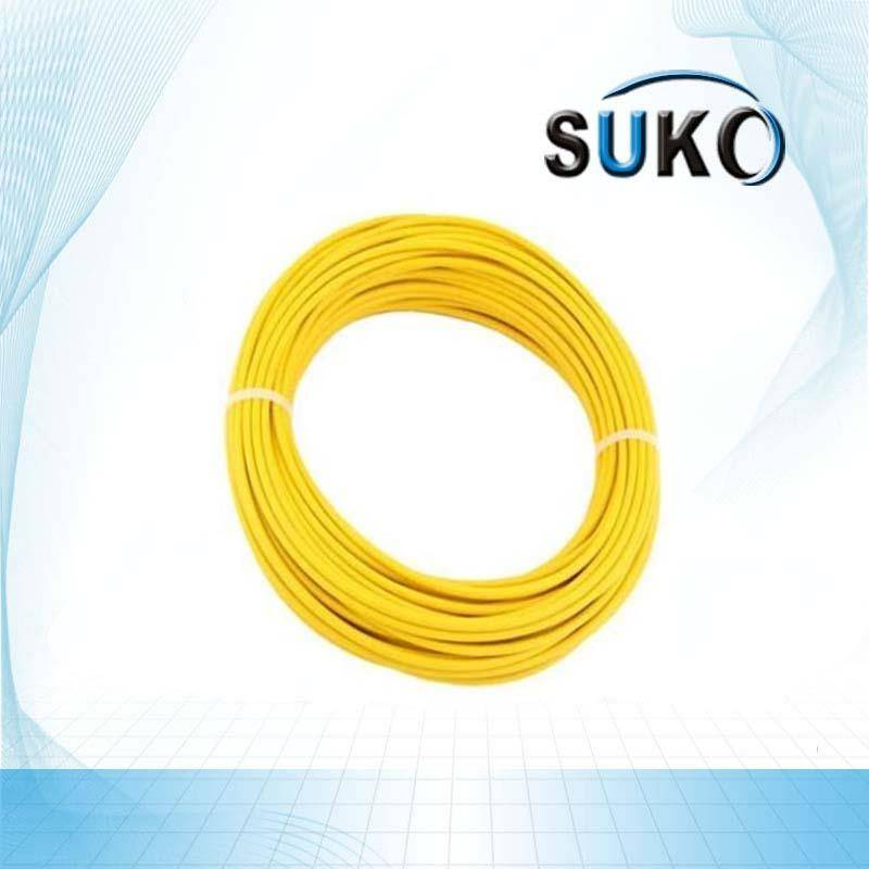 Best quality Uhmwpe Extrusion - Polymer PTFE Lined Tube / Pipe / Hose,Yellow – SuKo