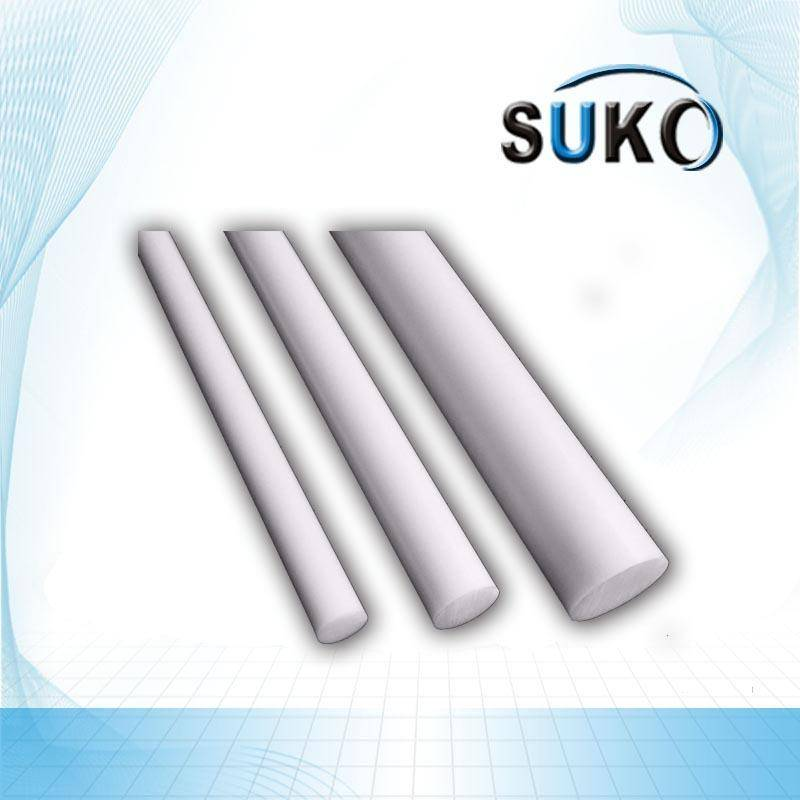 "Natural White 2""  PTFE Rod"
