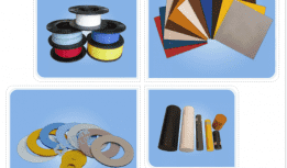 Processing and application of modified (filled) PTFE products