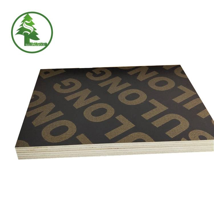 4*8 12mm 15mm 18mm Poplar waterproof Film Faced Plywood for Construction