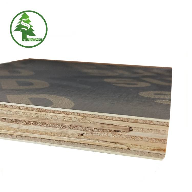 New Delivery for Marine Plywood For Boats -  Finger-jointed film faced plywood brown – SULONG