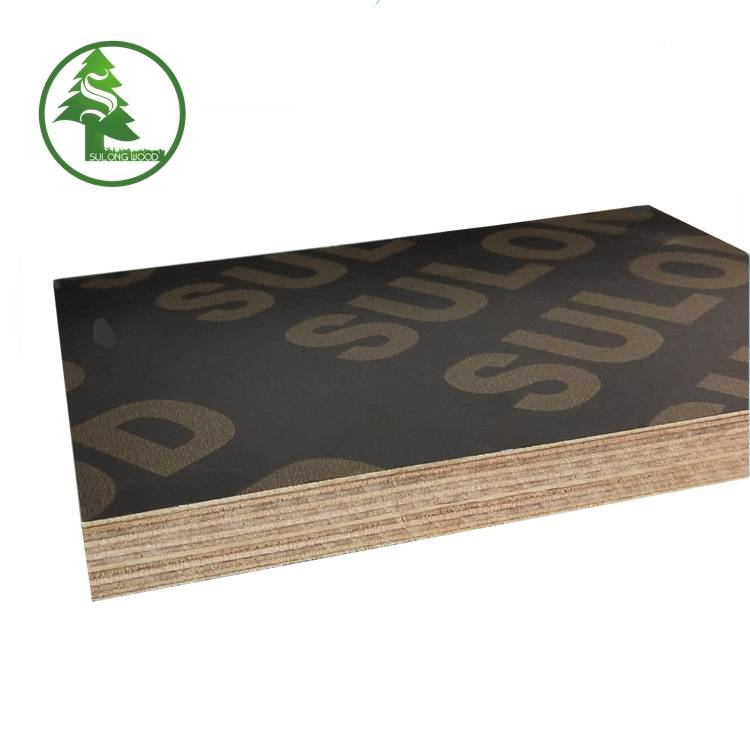 Manufacturer of Green Marine Plywood -  Finger-jointed film faced plywood brown – SULONG detail pictures