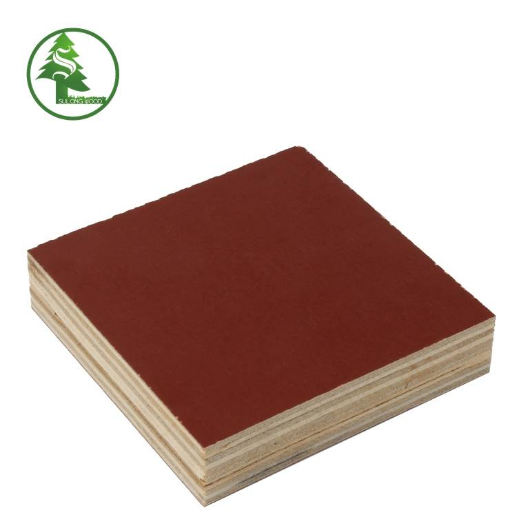 Good Quality Film Faced Plywood -  Film faced plywood red – SULONG