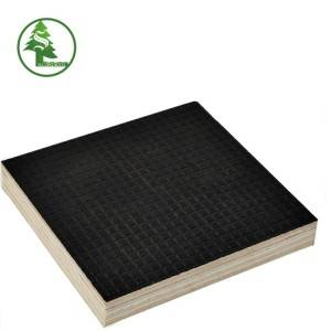 Factory supplied Marine Plywood Water Resistant - Wire-mesh Anti-slip Film Faced Plywood – SULONG