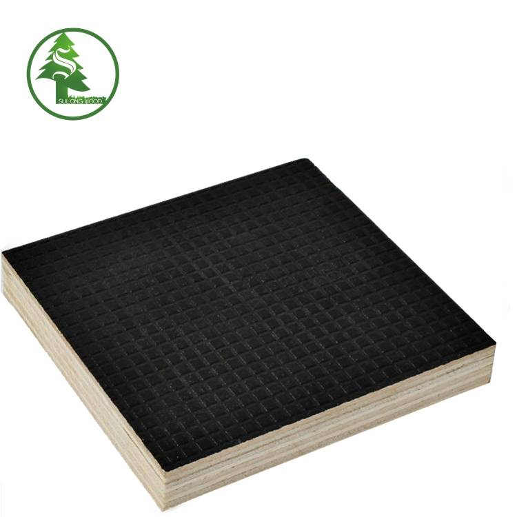 Super Lowest Price Black Marine Plywood - Wire-mesh Anti-slip Film Faced Plywood – SULONG Featured Image