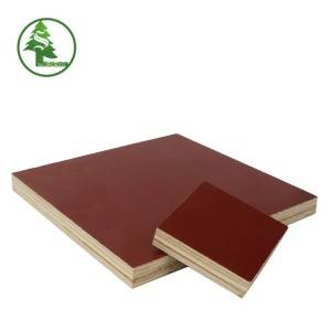 Film faced plywood red