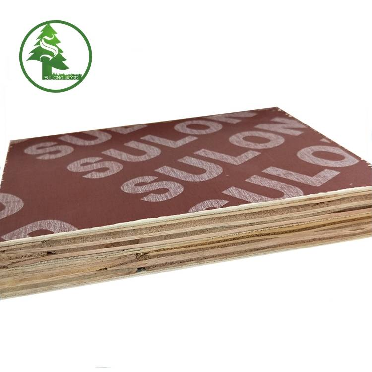 Best quality 19mm Marine Plywood -  Finger-jointed film faced plywood red – SULONG Featured Image