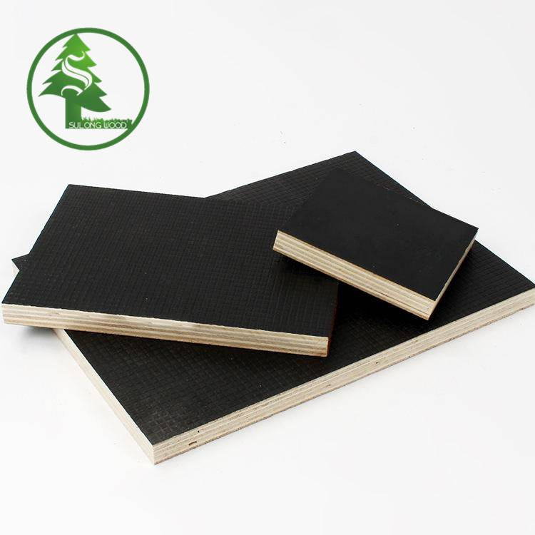 Super Lowest Price Black Marine Plywood - Wire-mesh Anti-slip Film Faced Plywood – SULONG