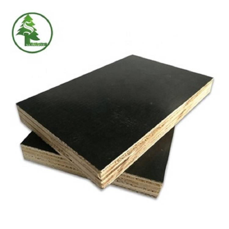 Best quality 19mm Marine Plywood -  Finger-jointed film faced plywood black – SULONG