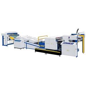 Automatic High Speed UV Spot Varnishing Machine(Dual Functions, for both thick and thin paper)Half-way Grip Tooth Conveying